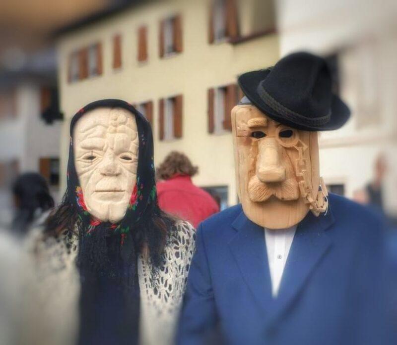 Carnevale Agordino-Maschere da Bello de La Zinghenesta