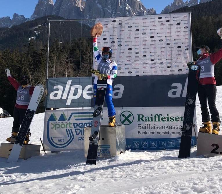 Lucia Dalmasso - Coppa Europa di snowboard