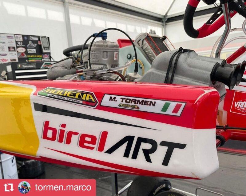 Marco Tormen - Campione Kart
