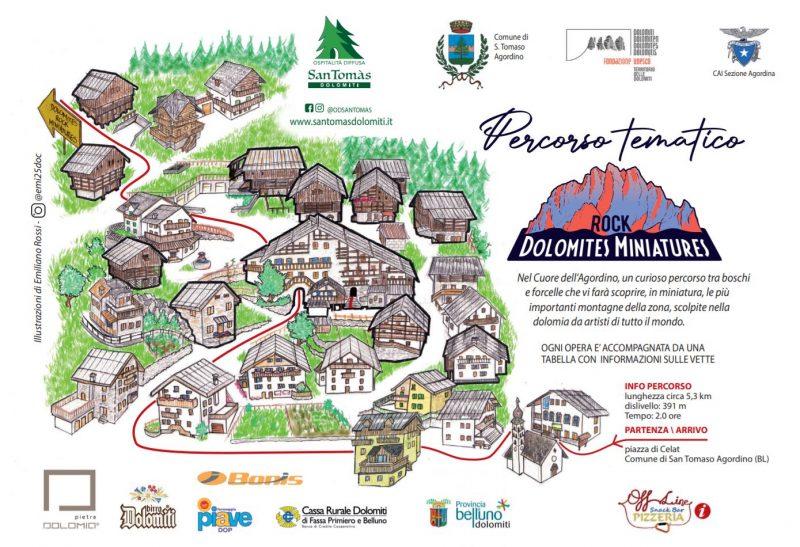 Dolomites Rocks Miniatures_Mappa