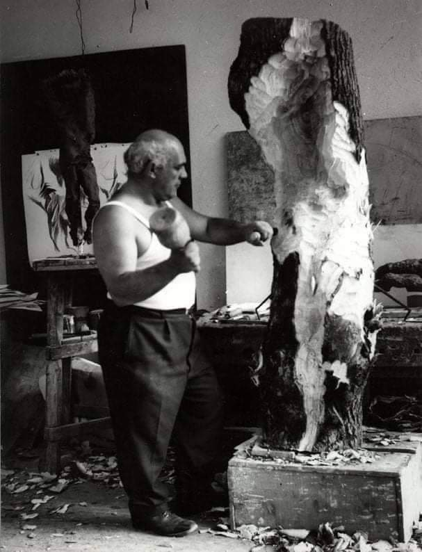 San Sebastiano di Augusto Falcade - Foto : © Archivio Associazione Erma - Museo Augusto Murer