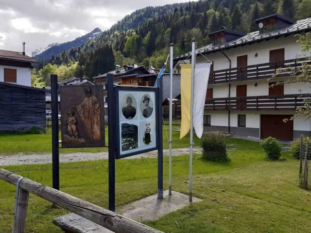 Formella Bronzea di Franco Murer - Canale d'Agordo
