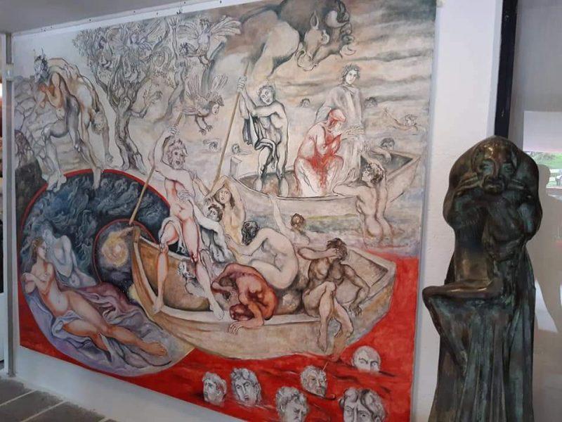 Passioni umane nell'inferno di Dante - Foto © Archivio Associazione Erma - Museo Augusto Murer