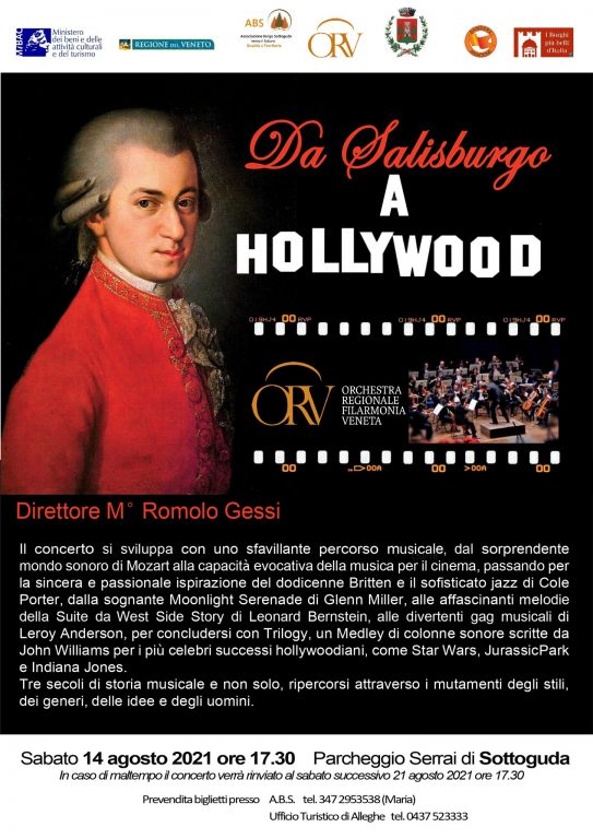 Rocca Pietore - Sottoguda - Da Salisburgo a Hollywood