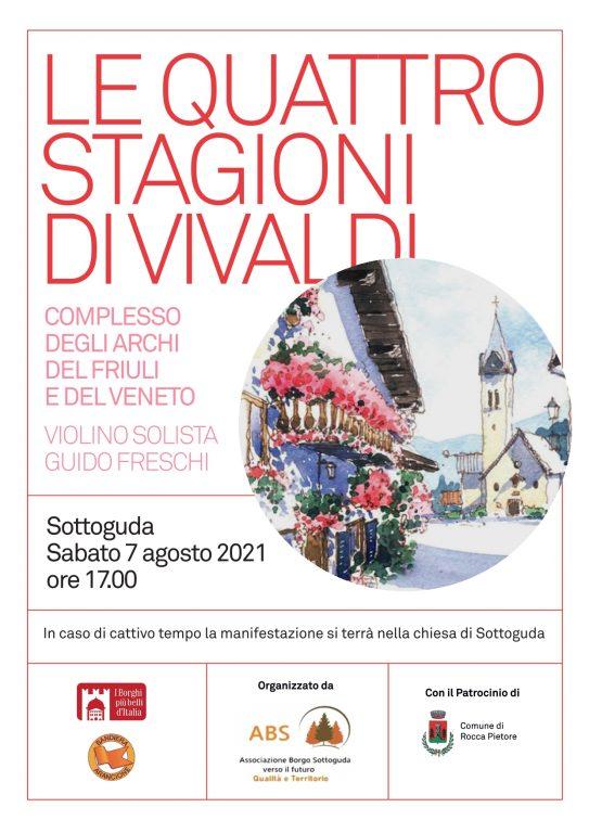 Rocca Pietore - Sottoguda - Le quattro stagioni di Vivaldi